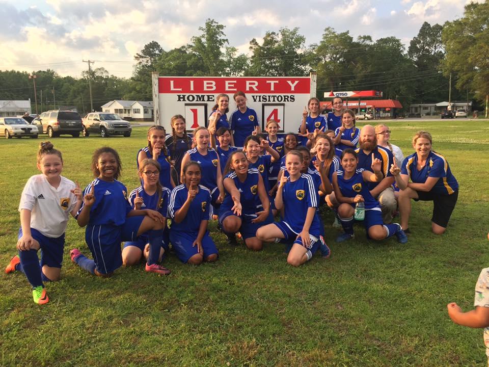 Girls Soccer Champs
